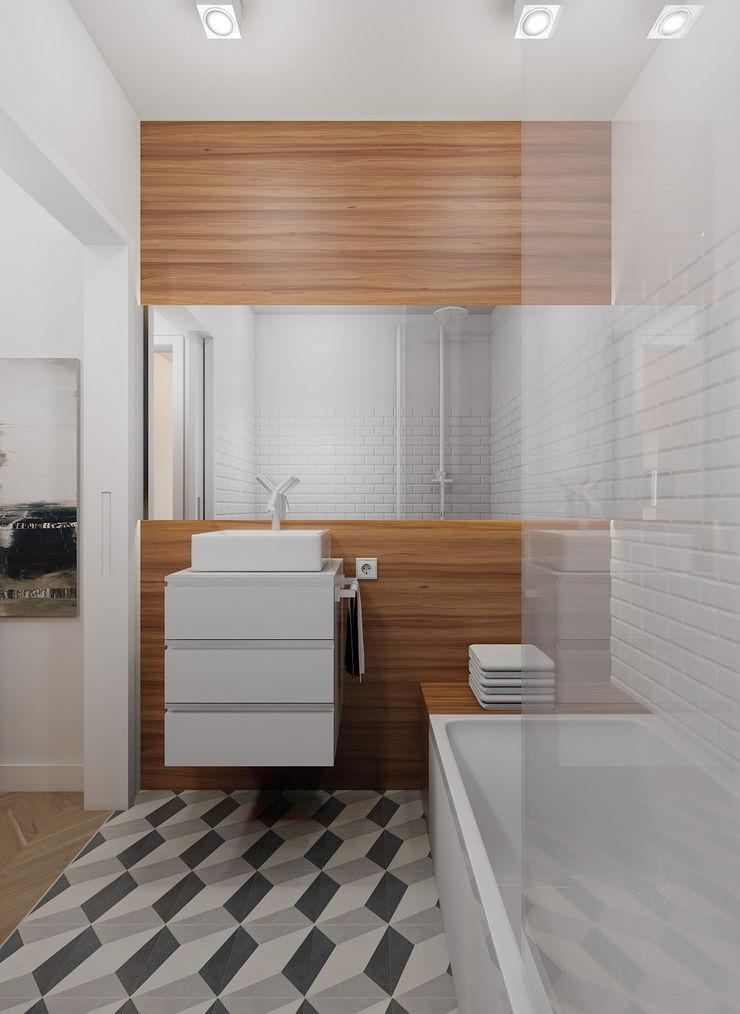 José Tiago Rosa Minimalist bathroom