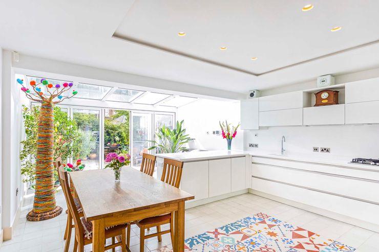 Wintergarden Kitchen Extension - Haper Road - SE1 London Designcubed Modern kitchen