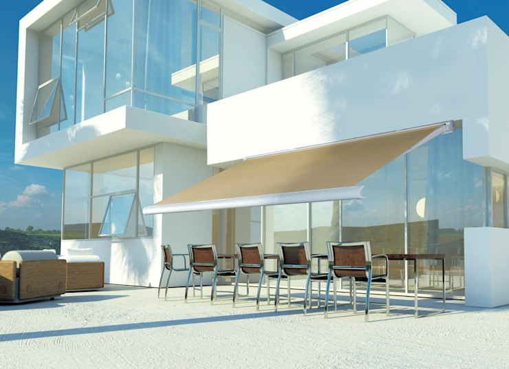 Els Home Bary i kluby Aluminium/Cynk Beżowy