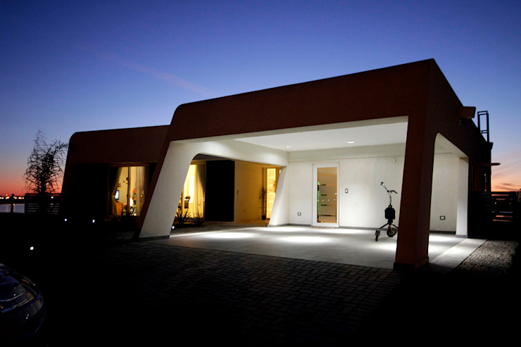 MiD Arquitectura Modern Garage and Shed