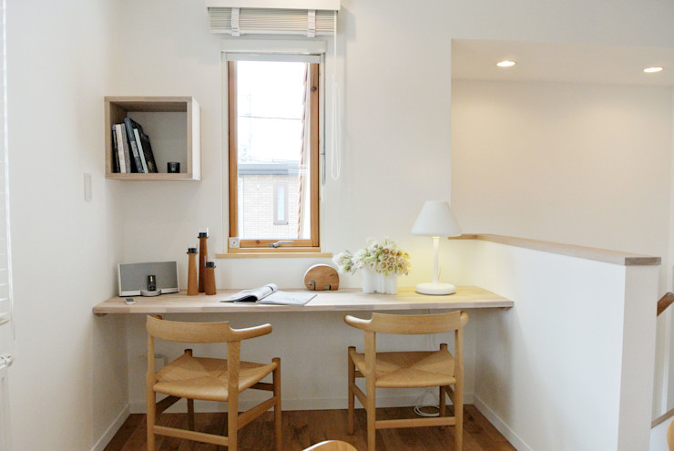 株式会社 ヨゴホームズ Scandinavian style dining room