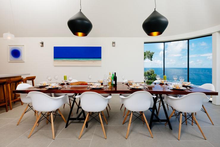 Gwel an Treth Perfect Stays Ruang Makan Modern