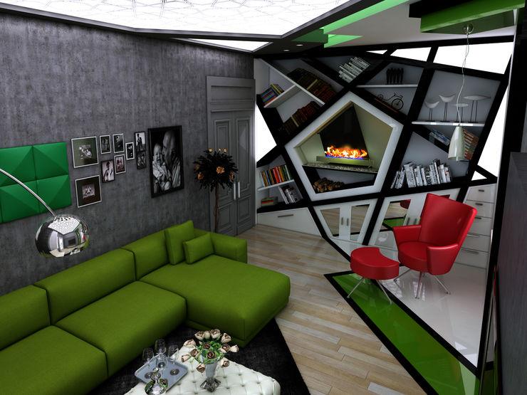 Abb Design Studio غرفة المعيشة