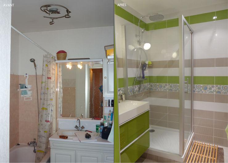 UN REFUGE URBAIN À NANTES UN AMOUR DE MAISON Salle de bain moderne