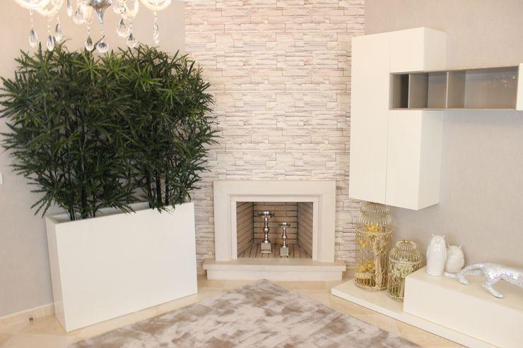 Andreia Louraço - Designer de Interiores (Email: andreialouraco@gmail.com) Salon moderne Beige