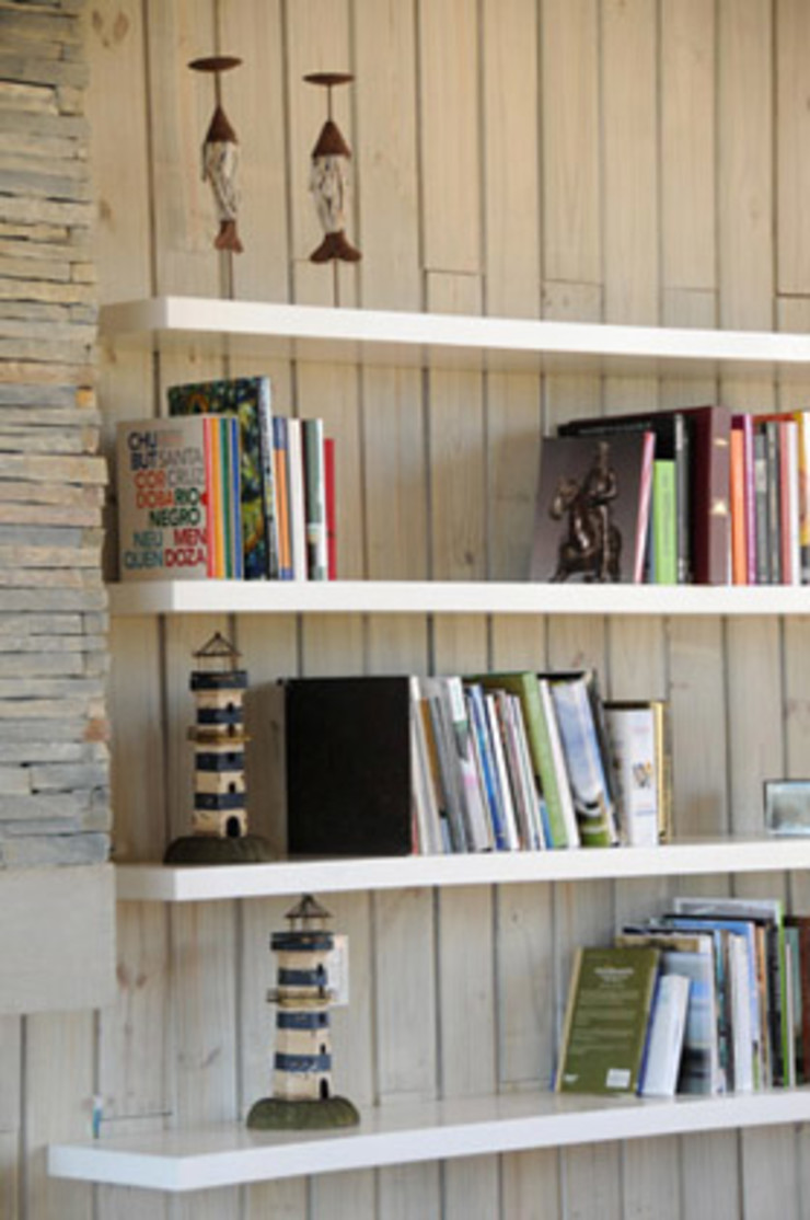 Estudio Susana Villaverde Living roomShelves