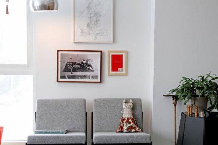 Espacios decorados by CUSTOMS handmade CUSTOMS handmade Paredes y pisos modernos