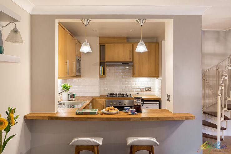 Breakfast Bar Katie Malik Interiors Dapur Modern