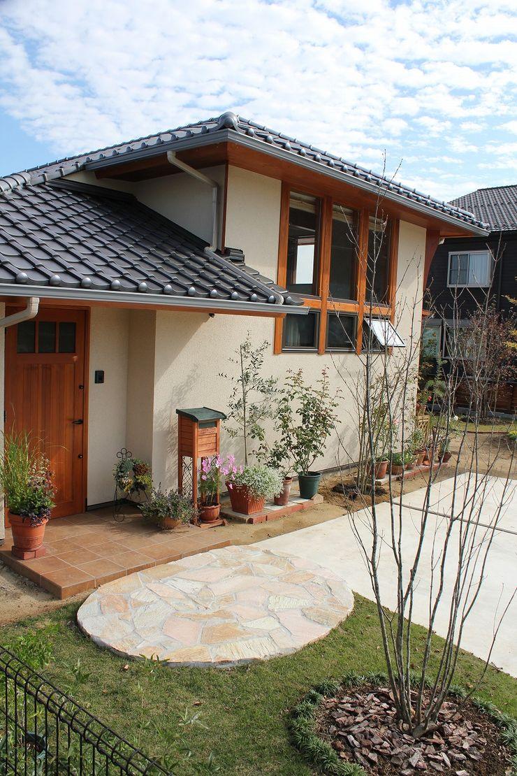 大出設計工房 OHDE ARCHITECT STUDIO Rustic style house