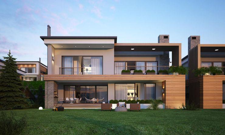 BUUN MOTTO ARCHITECTS Modern houses