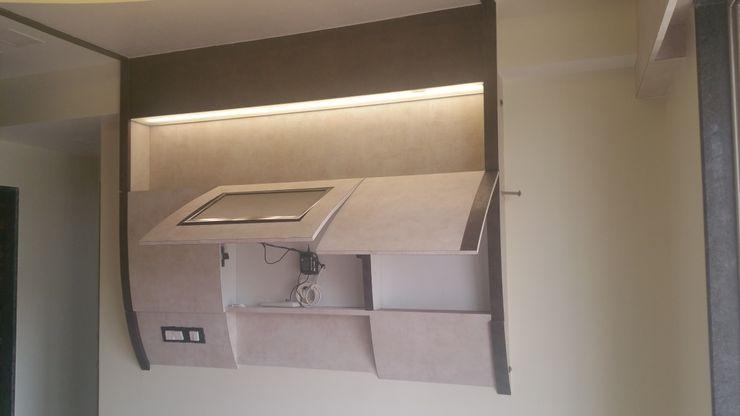 Alaya D'decor Cuartos de estilo moderno Contrachapado Beige
