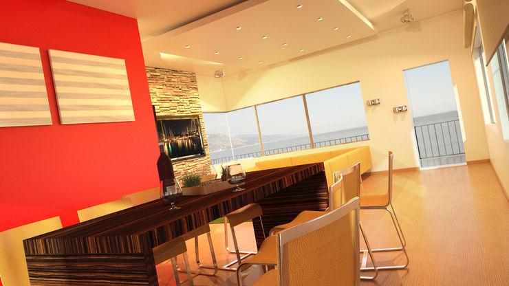 Damiano Ferrando | Architectural Visualization | Modern living room