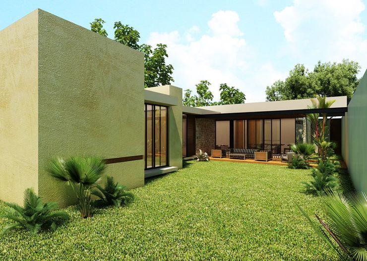 TOAR INGENIERIA Y DISEÑO Casas de estilo moderno