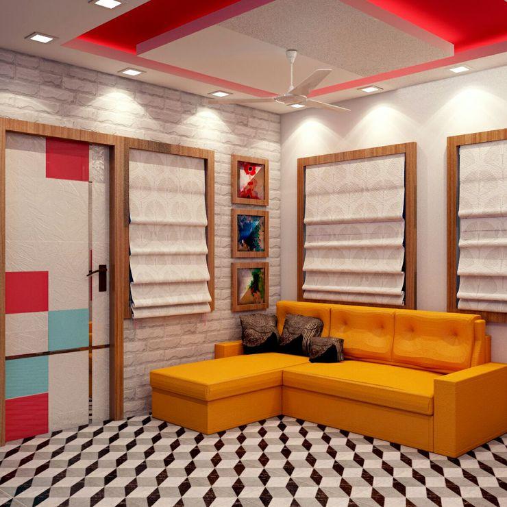 Living Room Sofa Area Creazione Interiors