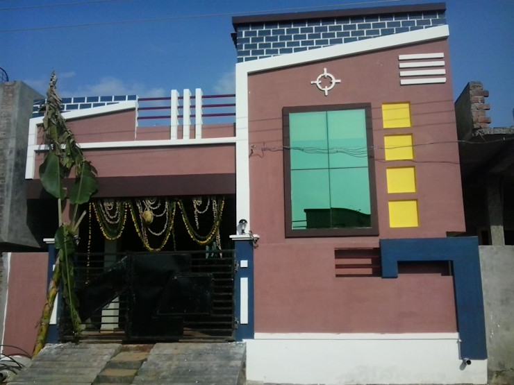 Construction / Civil Work S.R. Buildtech – The Gharexperts Asian style houses