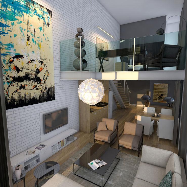 Callejon del 57-4- Boué Arquitectos homify Balcones y terrazasAccesorios y decoración