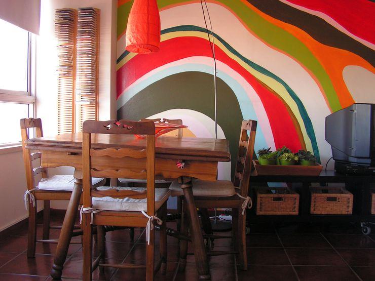 ANTES - Sala de jantar Casa do Páteo