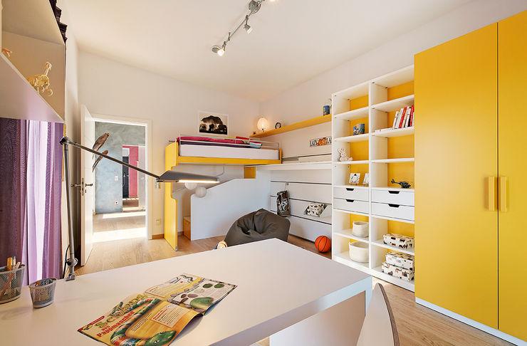 Lopez-Fotodesign Habitaciones para niños de estilo moderno Amarillo