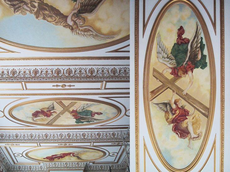 VILLA ARIADNI - Atene, Grecia Art'n'Art Studio di Claudia Masini Soggiorno classico Variopinto