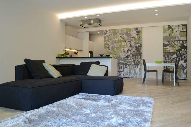 LTAB/LAB STUDIO Livings de estilo moderno