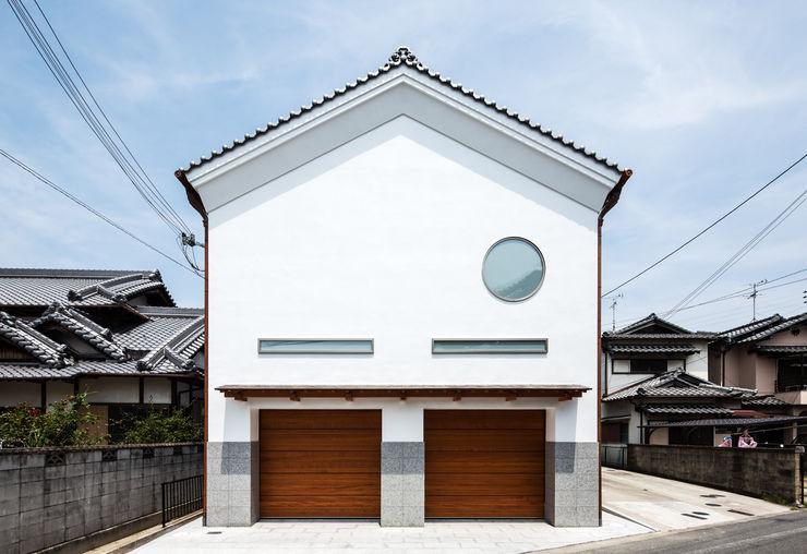 橋本健二建築設計事務所 Modern houses Wood White