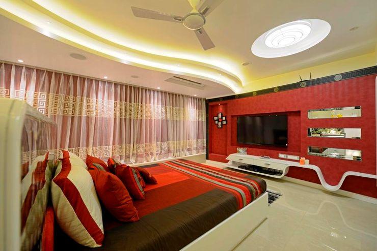 AIS Designs Modern style bedroom