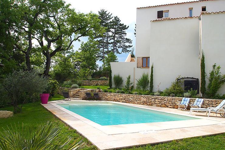 La piscine en Béton à Nice Oplus piscines Piscine méditerranéenne