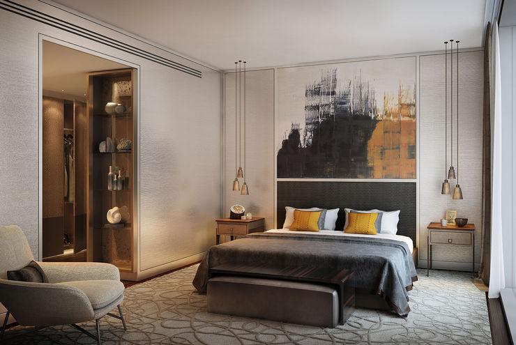 Folio Design | The Cricketers | Master Bedroom Folio Design Modern style bedroom