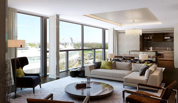 Folio Design | The Cricketers | Living Room Folio Design Modern living room