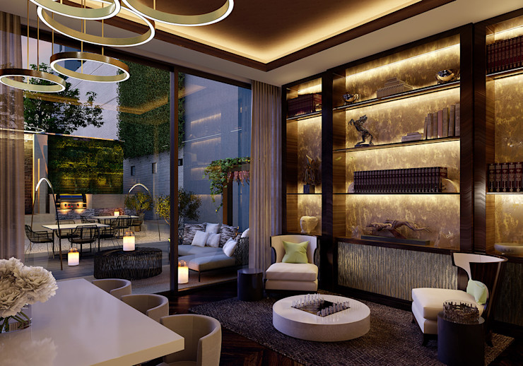 Folio Design | The Cricketers | Club Room Folio Design Modern living room
