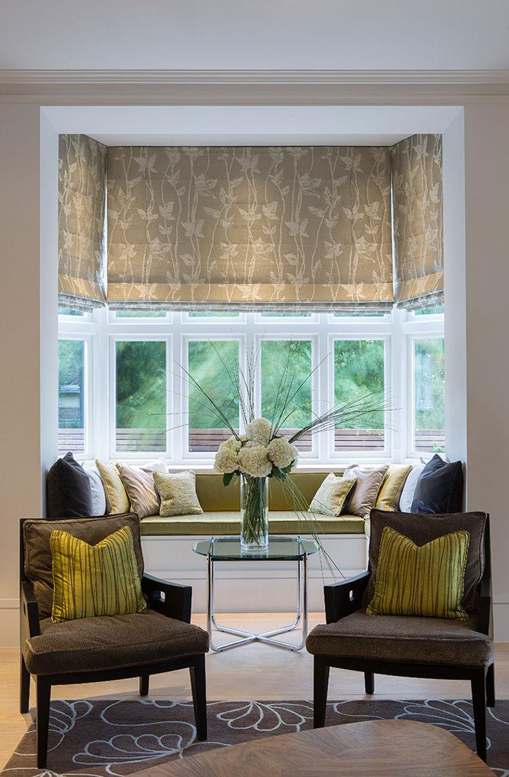 Folio Design | The Crafted House | Sitting Area Folio Design Вітальня Зелений