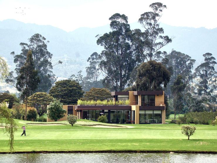 Casa del Portico David Macias Arquitectura & Urbanismo Casas modernas