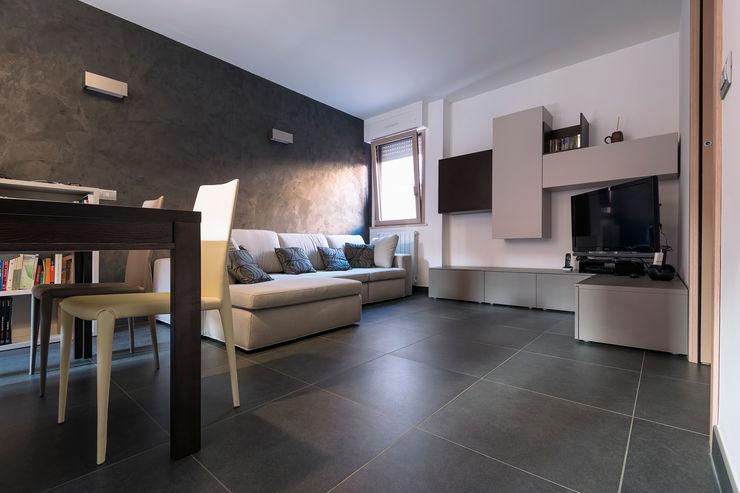 Villa a schiera Roma Laura Galli Architetto Soggiorno moderno