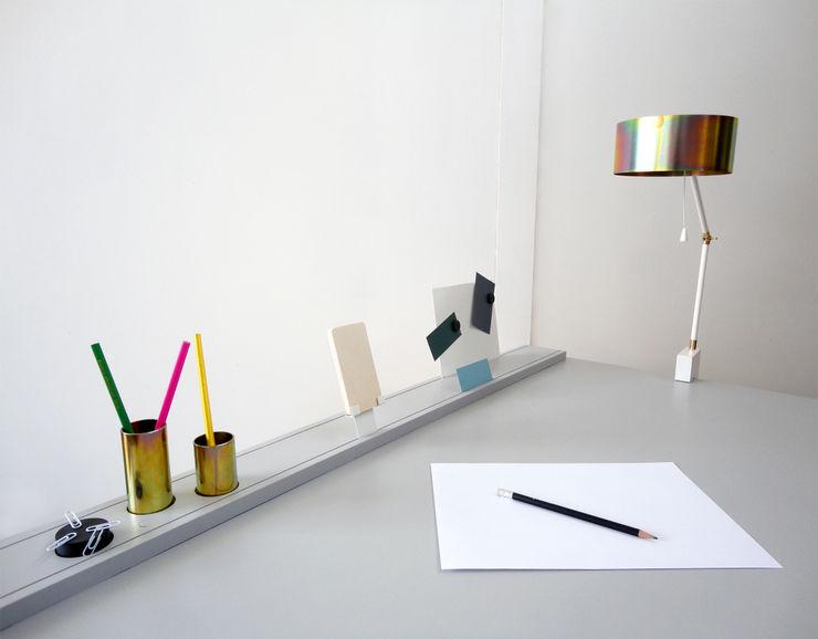 Urban Nomad Revisited Studio Isabel Quiroga Study/officeDesks Wood Grey