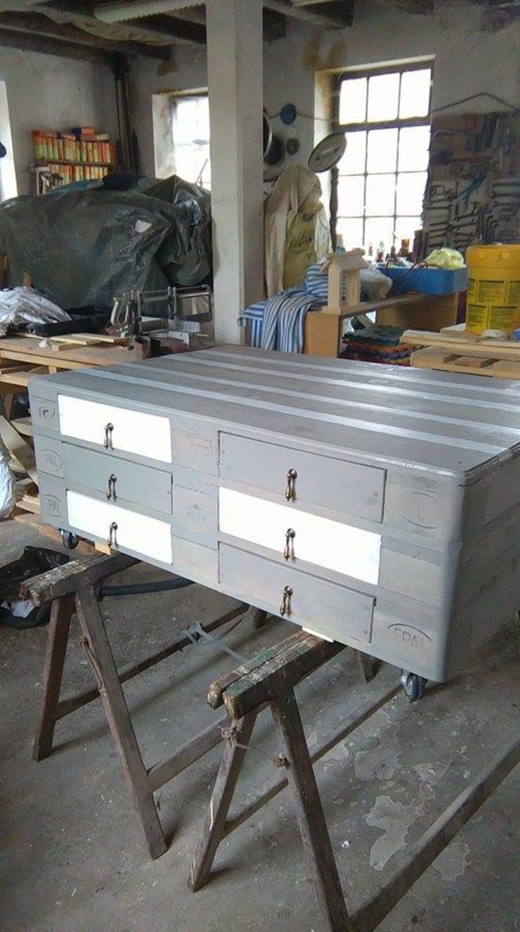 Palcreassion BedroomWardrobes & closets Wood Grey