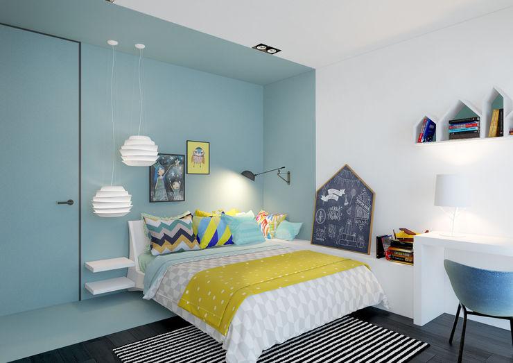 ZR-architects Детская комната в стиле модерн