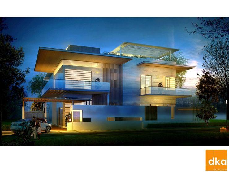 Poddar residence Dutta Kannan Partners Modern houses