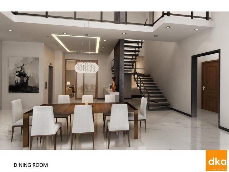 Poddar residence Dutta Kannan Partners Modern dining room