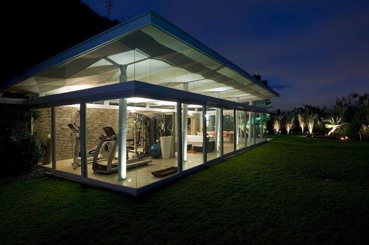 Caney oda - oficina de arquitectura Jardines de estilo moderno