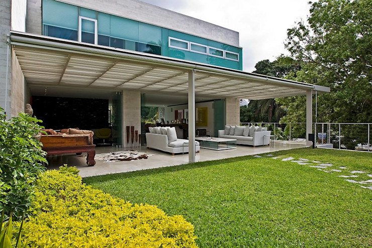 oda - oficina de arquitectura Balcon, Veranda & Terrasse modernes
