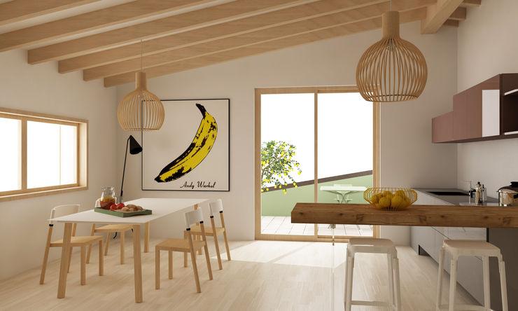 Progetto interno appartamento Studio Cobelli CucinaTavoli & Sedie