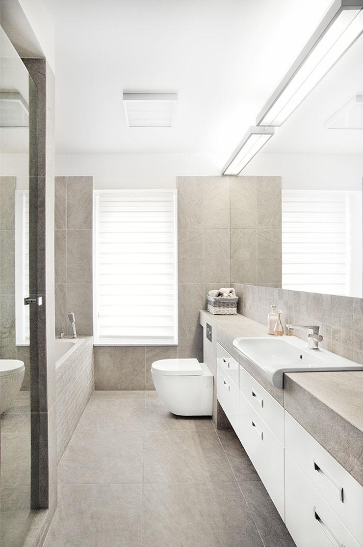 PL+sp. z o.o. Moderne badkamers Beige