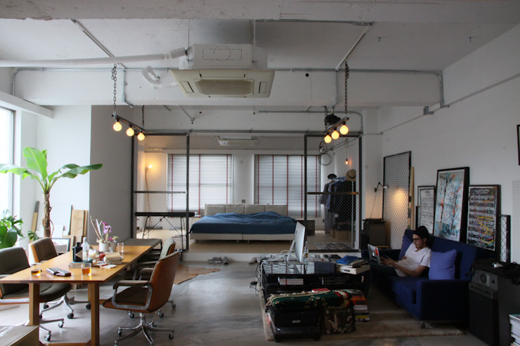 HOUSETRAD CO.,LTD Industrial style living room