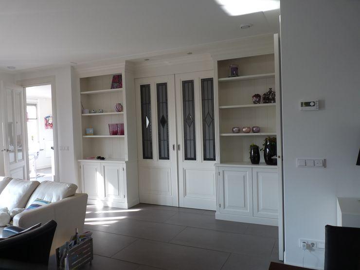 Interieur nieuwbouw villa Velddriel Villa Delphia Klassieke woonkamers