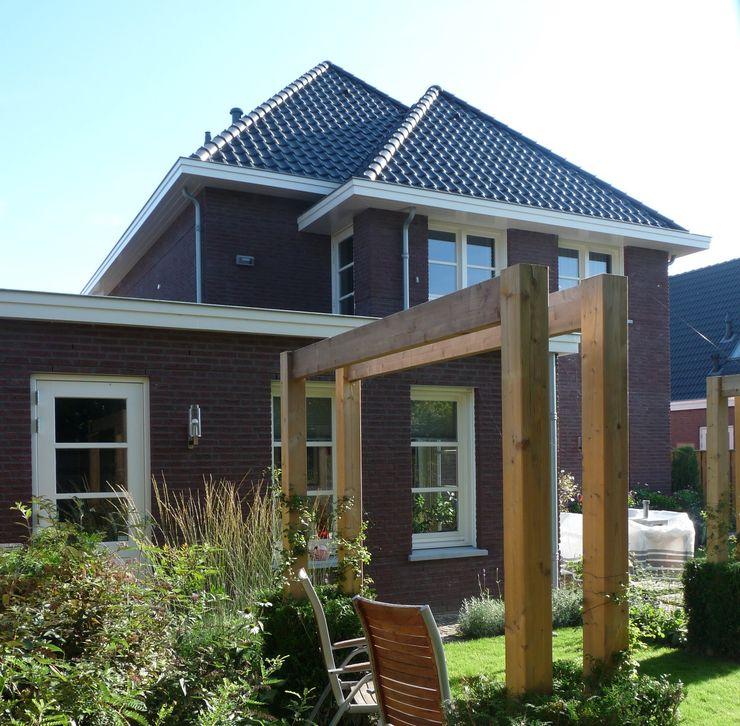 Tuin nieuwbouw villa Velddriel Villa Delphia Klassieke tuinen