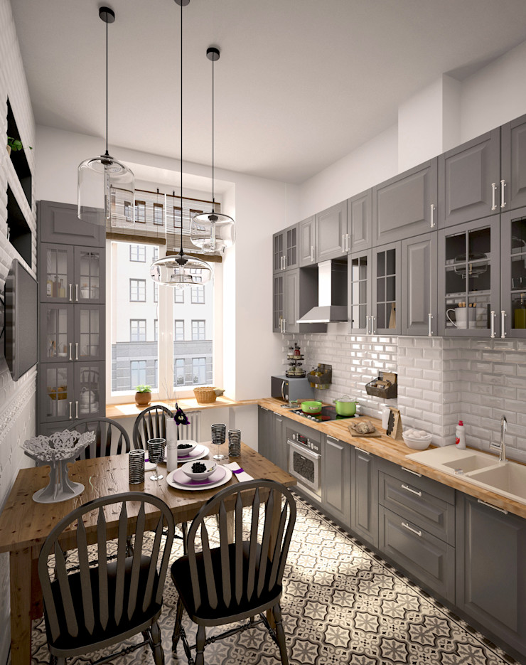 BMM Eclectic style kitchen