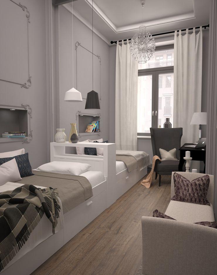 BMM Eclectic style bedroom