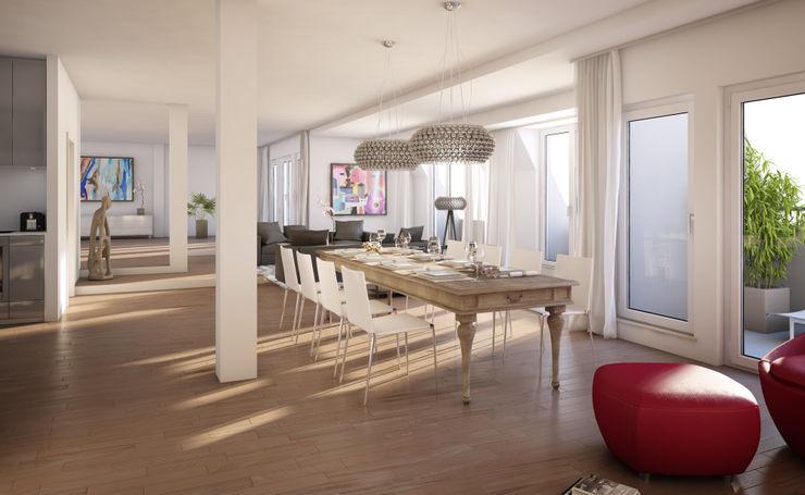 Wohnung in Berlin winhard 3D Klassische Wohnzimmer