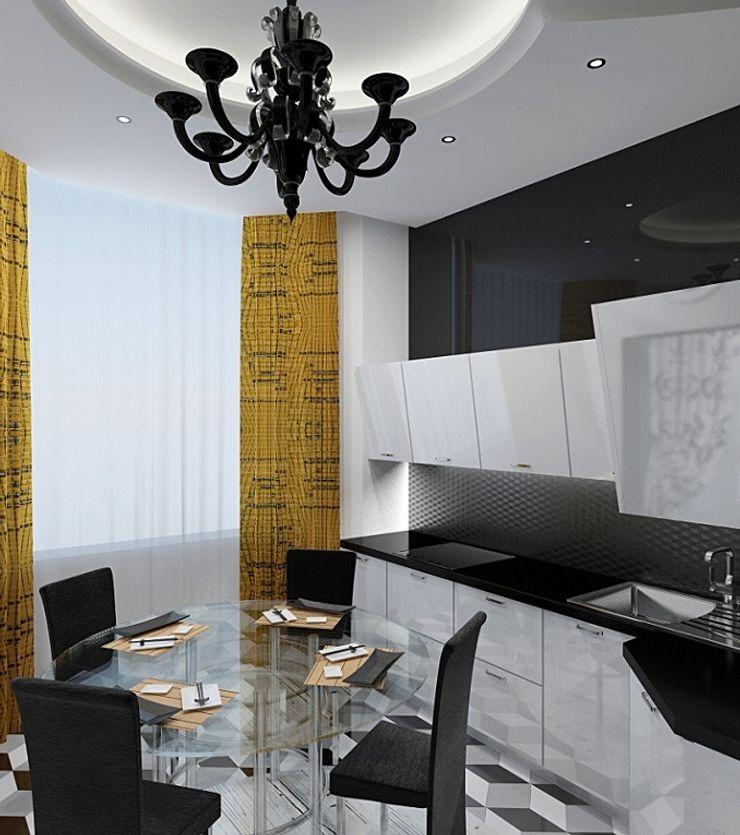 Alena Gorskaya Design Studio Kitchen