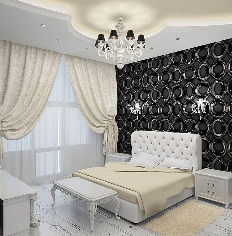 Alena Gorskaya Design Studio Eclectic style bedroom